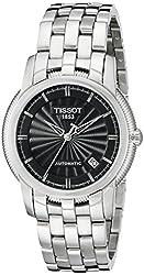 Tissot Men's T97148351 T-Classic Black Dial Watch