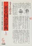 大きな活字の三省堂国語辞典 第七版