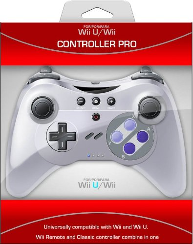 Pro Controller U for Wii and Wii U - SNES (Wii U Pro Controller Snes compare prices)