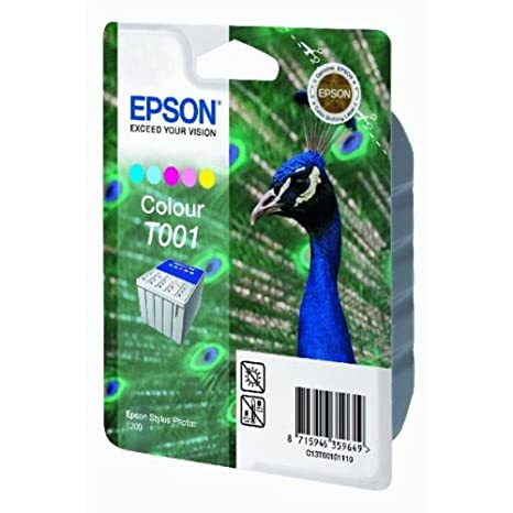 Epson C13T00101110 Cartouche d'encre color pour Stylus Photo 1200
