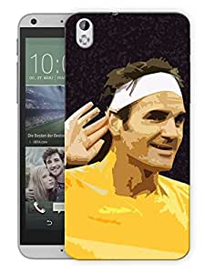 "Humor Gang Tennis God Poster Art Printed Designer Mobile Back Cover For ""HTC DESIRE 816"" (3D, Matte, Premium Quality Snap On Case)"