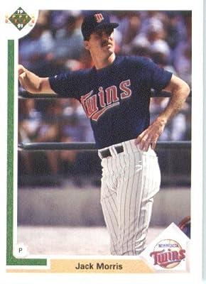 1991 Upper Deck # 736 Jack Morris Minnesota Twins - MLB Baseball Trading Card