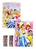 Disney Princess Coloring Booklet and Crayons 8x5.5 (2 Booklets at Random)