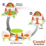 Combi Go and Grow Walker  Play Table and Chairs  Green  Small by Combi [並行輸入品]
