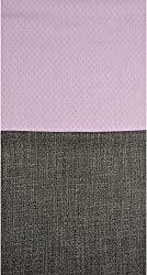 Grasim Men's Cotton Shirt and Trousers Fabrics (12, Pink and Black)