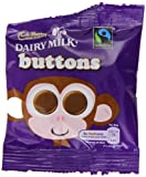 Cadbury Dairy Milk Chocolate Buttons Treatsize 14 g (Pack of 55)