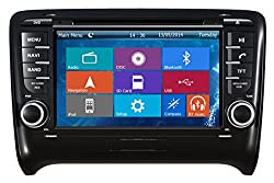 See Crusade Car DVD Player for Audi Tt 2006-2011 Support 3g,1080p,iphone 6s/5s,external Mic,usb/sd/gps/fm/am Radio 7 Inch Hd Touch Screen Stereo Navigation System+ Reverse Car Rear Camara + Free Map Details