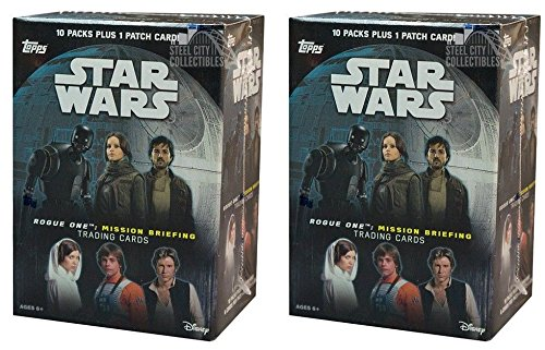 2016 Topps Star Wars Rogue One: Mission Briefing Blaster 2-Box Lot