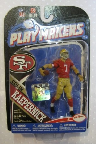 NFL San Francisco 49ers 2013 Playmaker Series 4 Colin Kaepernick Action Figure at Amazon.com