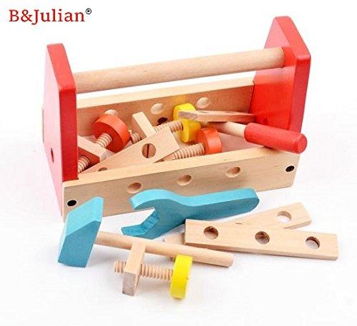 BJulian-Werkzeugkasten-Kinder-Holz-16-tlg-mit-Zubehre-Handwerker-Set-fr-Kinder-ab-2