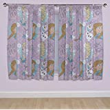 Disney 72-inch Frozen Crystal Curtains