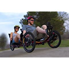 Buy TerraTrike Tandem Pro Recumbent Trike W  IPS by TerraTrike