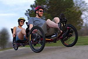 Buy TerraTrike Tandem Pro Recumbent Trike by TerraTrike