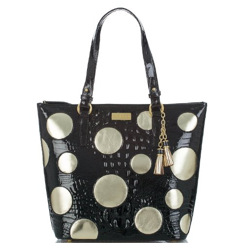 Asher Tote<br>Holiday Dots