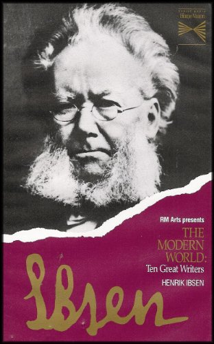 RM Arts Presents The Modern World: Henrik Ibsen [Ten Great Writers Series: Documentary on Writers Who Were Among the First to Envision Life in the Modern World] VHS VIDEO (World Vision Dolls compare prices)