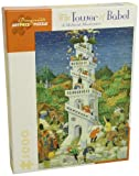Tower of Babel: 1,000 Piece Puzzle