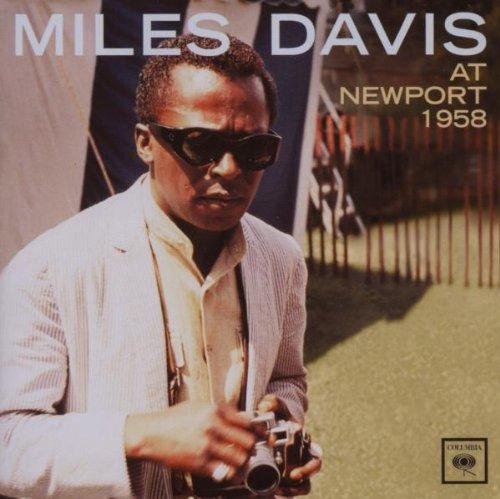 Miles Davis at Newport 1958 artwork