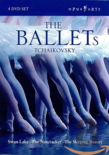 DVD : Ballets: Nutcracker / Swan Lake / Sleeping Beauty (4 Discos)