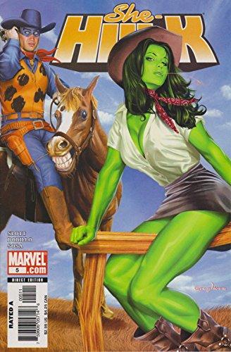 アメコミリーフ『シーハルク (She-Hulk)』#5