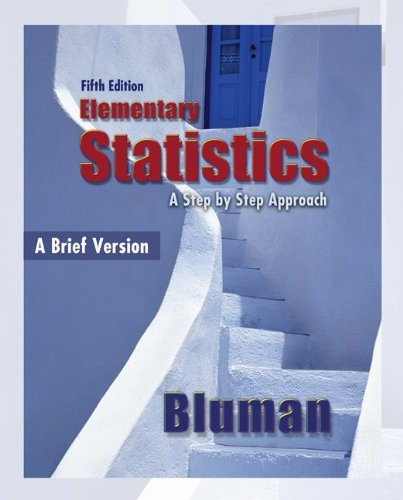 Elementary Statistics, A Brief Version