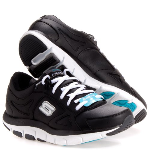 black skechers runners