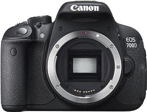 Canon EOS 700D Reflex numérique 18 Mpix Noir