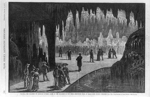 Photo: Luray Caverns,Page County,Virginia,VA,1878