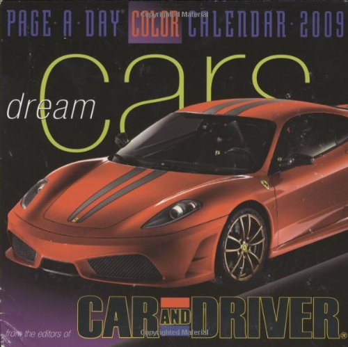 365 Dream Cars Page-A-Day Calendar 2009