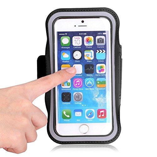 AmaziPro8 ARM-8000 The Original Sports Armband Plus Free Key Holder - Sporty Armband for iPhone 6 4.7