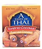 A Taste Of Thai toasted coconut fortune cookies, gluten free 1.4 oz Box