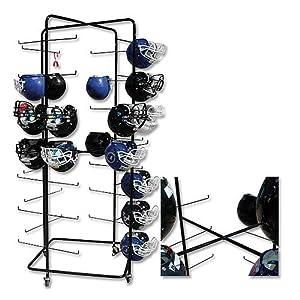Buy Pro Down Rolling Football Helmet Rack by Pro Down