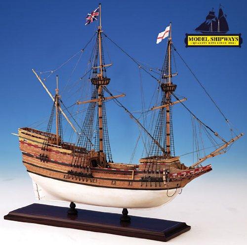 Model Shipways MS2020 Mayflower Wood/Metal Ship Kit - Model Expo (Mayflower Model Kit compare prices)