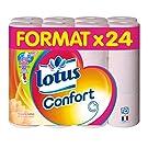 Lotus Confort 24 Rouleaux de Papier Hygi�nique Aquatube