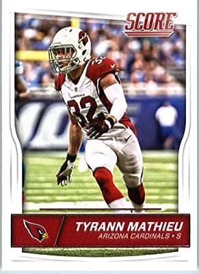 2016 Score #10 Tyrann Mathieu Arizona Cardinals Football Card