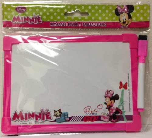 Minnie Mouse Style on the Go! Dry Erase Board