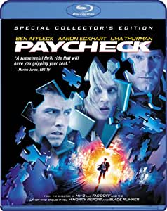 NEW Affleck/thurman/eckhart - Paycheck (Blu-ray)