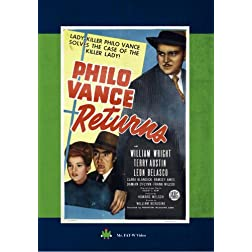 Philo Vance Returns
