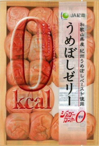 モントワールJA紀南0キロカロリーうめぼしゼリー 6個×12袋