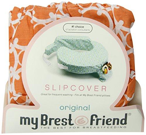 My Brest Friend Slipcover, Orange Marina