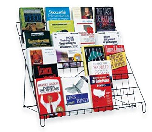 Books Literature Dvd Cd Video Tape Display Counter Rack Store Fixture Black New