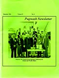 img - for Pugwash Newsletter Volume 33, No. 6, December 1996 book / textbook / text book