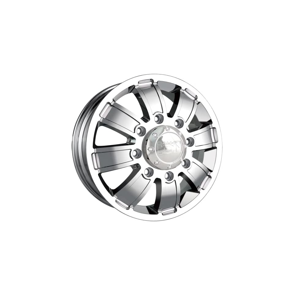 Ion Alloy Dually 166 Chrome Wheel (17x6.5/8x165.1mm)