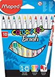 Maped Color'Peps Brush Felt Pens in Cardboard Box 848010