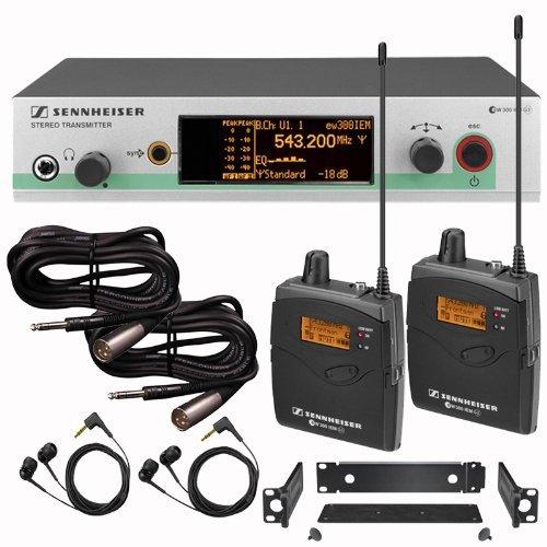 Sennheiser Ew 300 Iem G3 In Ear Monitor Dual Receiver G