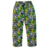 Marvel Comics The Incredible Hulk Mens Lounge Pants Pyjama Bottoms Grey Large