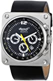 Ingersoll Men's IN4108SBK Bison No. 43 Analog Display Automatic Self Wind Black Watch