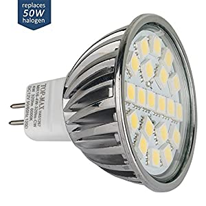 TOP-MAX 6w GU10 Super Bright Spot Light LED BULBs Equivalent To 50W Halogen Bulbs Lamp from TOP-MAX