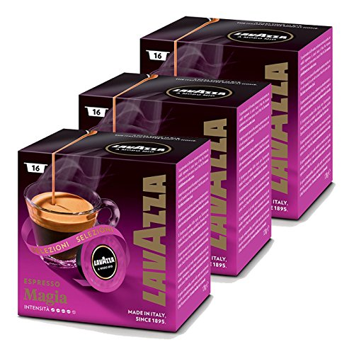 lavazza a modo mio magicamente pack of 3 3 x 16 capsules. Black Bedroom Furniture Sets. Home Design Ideas