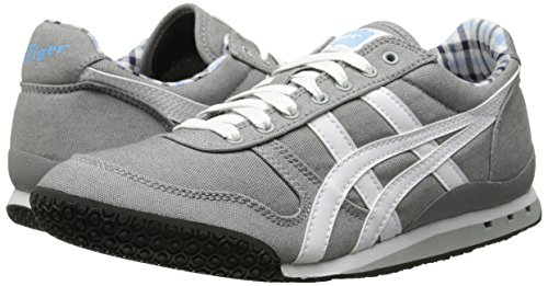 wholesale dealer bebfb 8c436 Onitsuka Tiger Ultimate 81 Classic Running Shoe,Grey/White/Plaid,5 M US