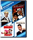 4 Film Favorites: Eddie Murphy (Coming To America, Harlem Nights, Boomerang, Norbit) - Comedy DVD, Funny Videos